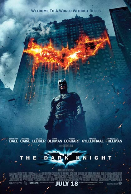 Affiche de « The Dark Knight »