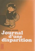 Couverture de Journal d'une disparition de Hideo Azuma