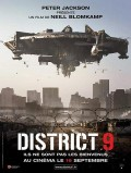 "Affiche de ""District 9"""