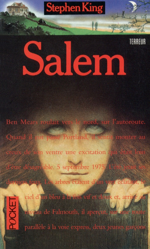 "Couverture de ""Salem"" de Stephen King"