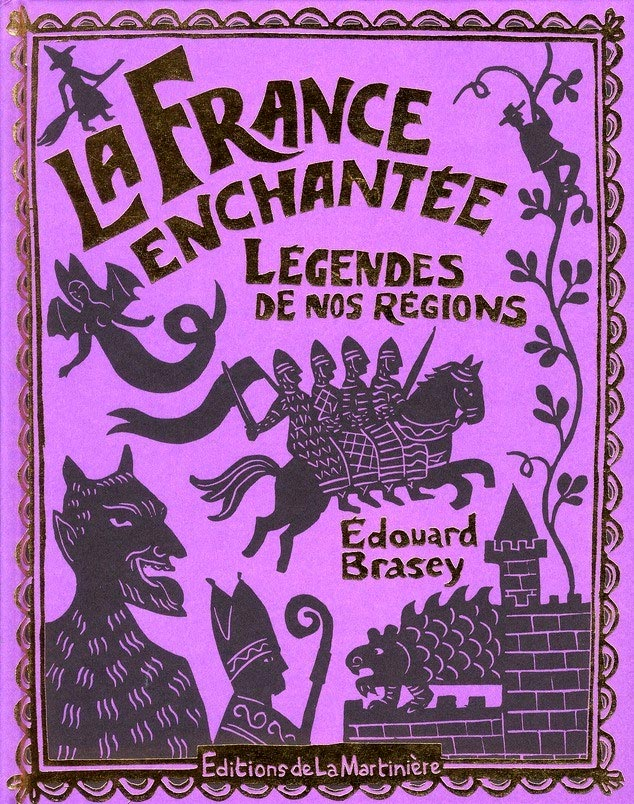 Couverture de « La France enchantée » d'Édouard Brasey