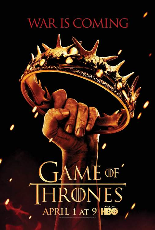 Affiche « Game of Thrones » saison 2