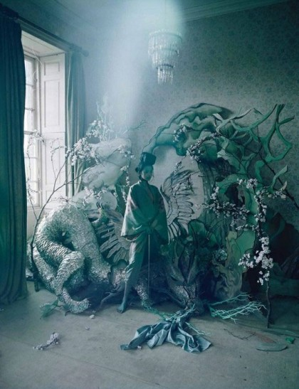 Photographie de Tim Walker pour W Magazine