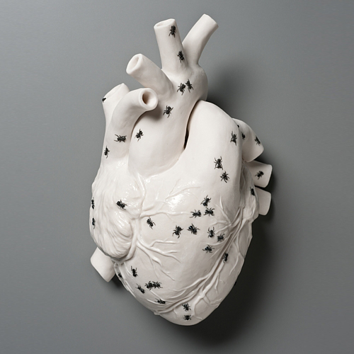 « Ants ate all my sugar », Kate MacDowell (2010)