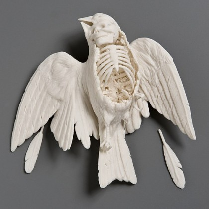 « Sparrow », Kate MacDowell (2008)