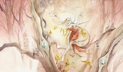 """Seasons : Autumn - Dewdrop Spinner"", Stephanie Pui-Mun Law, 2003"
