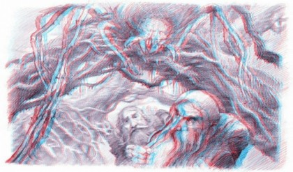 Les storyboards 3D de Alan Lee et John Howe