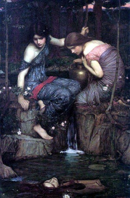 """Nymphs finding the head of Orpheus"""", John William Waterhouse, 1900"""