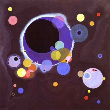 « Several Circles » de Kandinsky