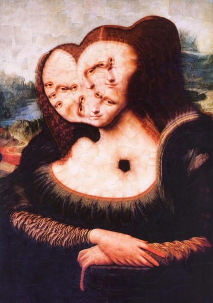 « The Mona Lisa » par Lola Dupre
