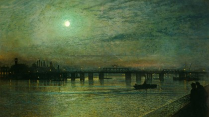 John Atkinson Grimshaw - battersea-bridge