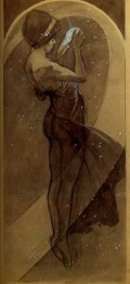 « North Star » Alphonse Mucha