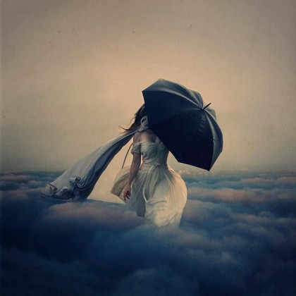 """The Storm above the Clouds"", Brooke Shaden"