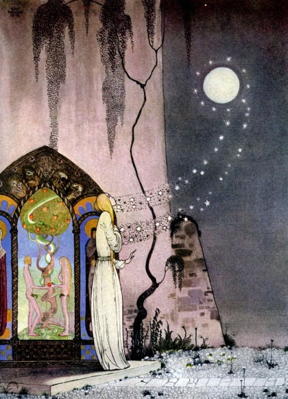 Kay Nielsen -The Lassie and her godmother