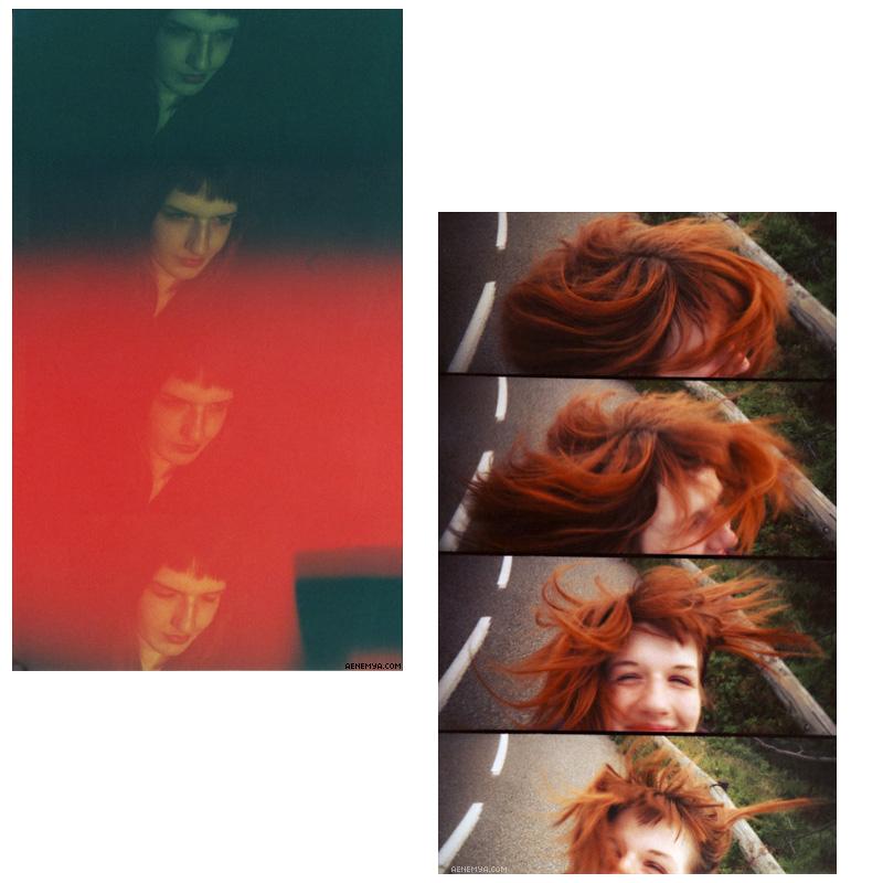Portraits pris en lomographie