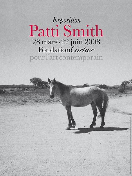 Exposition Patti Smith à la Fondation Cartier