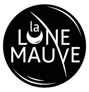 Logo de LaLuneMauve (noir)