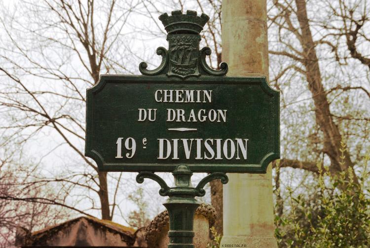 Le Chemin du Dragon (Père Lachaise)