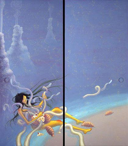 Panorama visual hallucination par Fuco Ueda