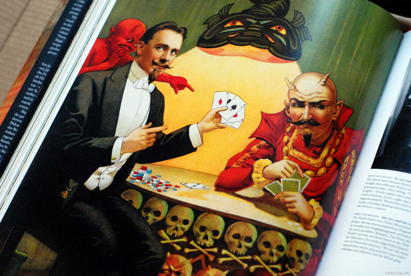 Partie cartes avec le Diable