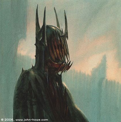La Bouche de Sauron par John Howe