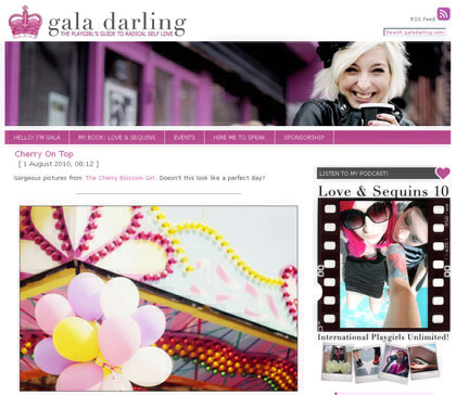 Le blog de Gala Darling