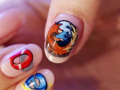 Ongles Firefox