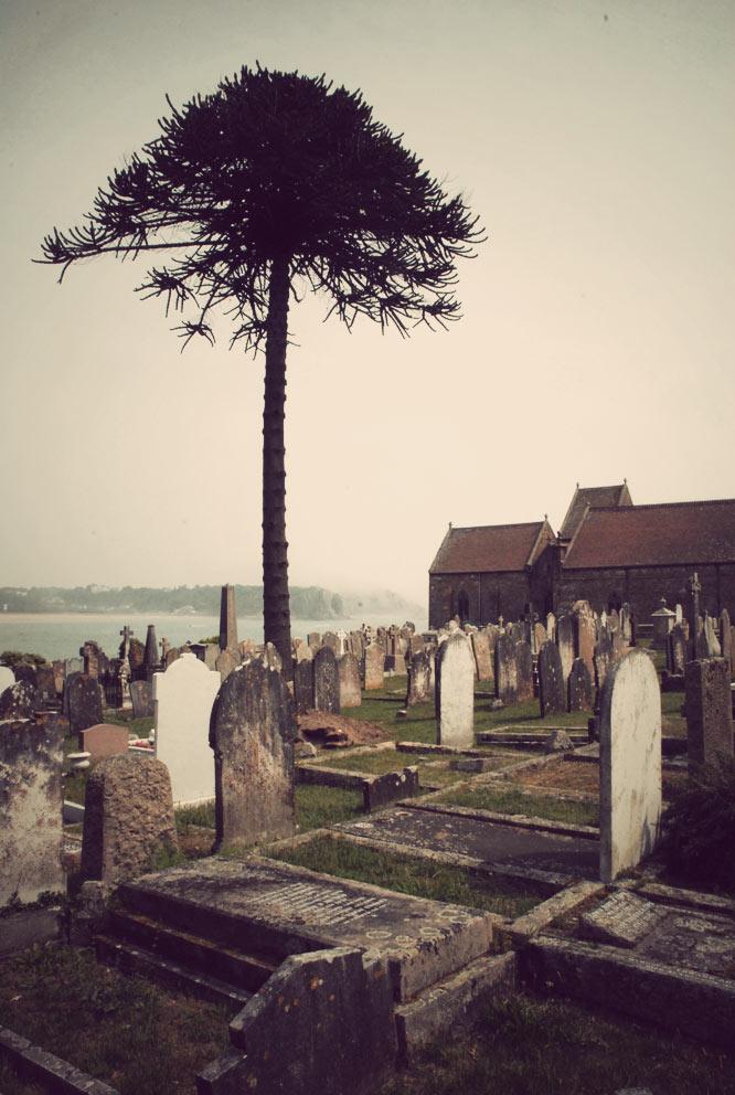 Le cimetière de Jersey