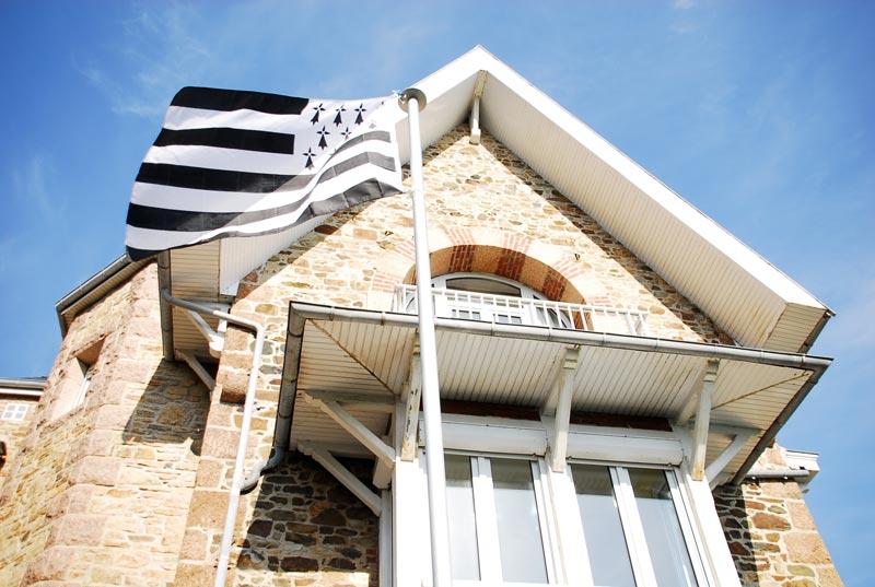 Le fier drapeau breton