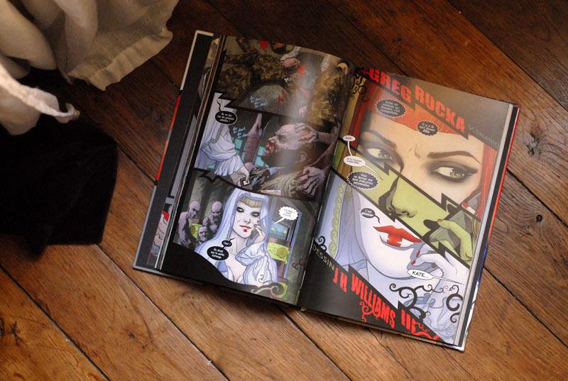 Batwoman, Elégie pour une ombre - pages intérieures