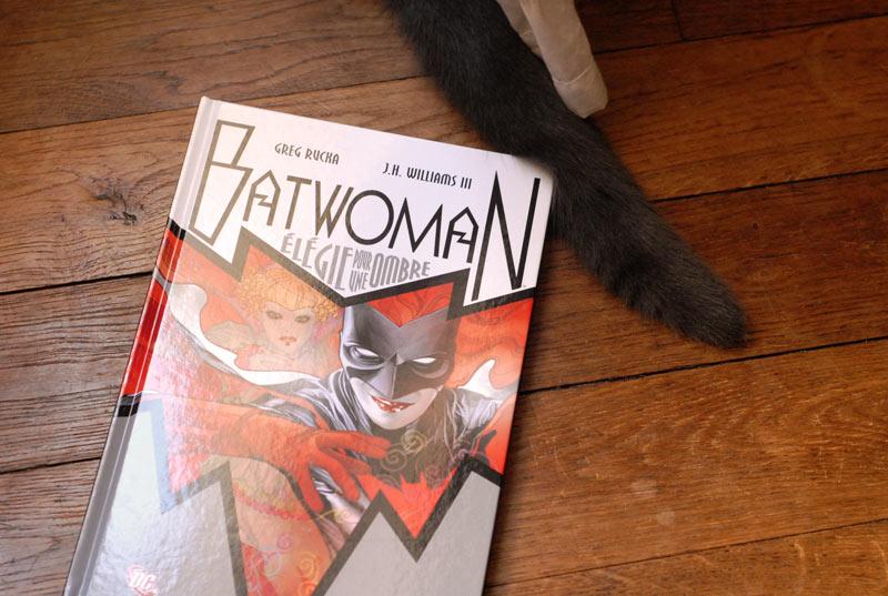 Batwoman, Elégie pour une ombre - première de couverture