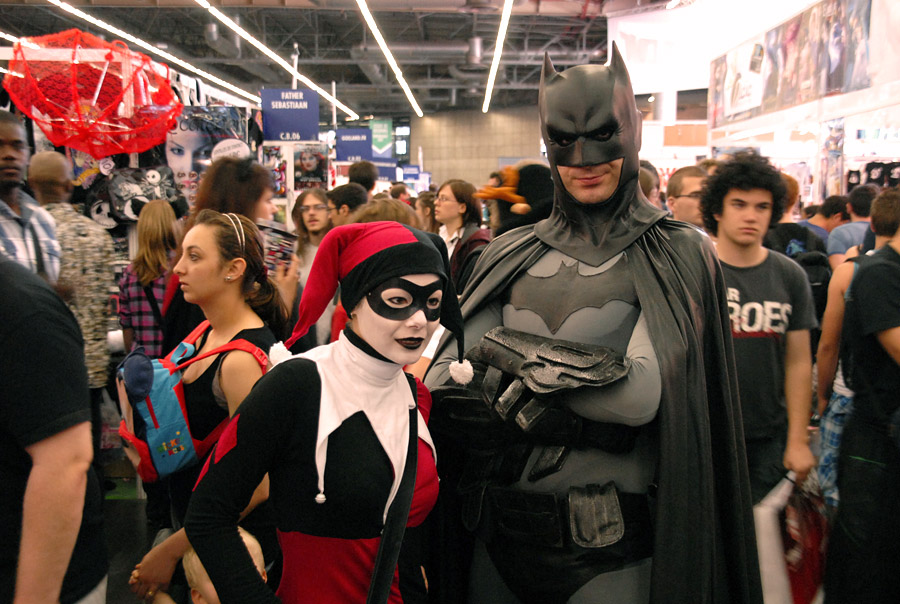 Japan Expo 2011 : Batman et Harley Quinn