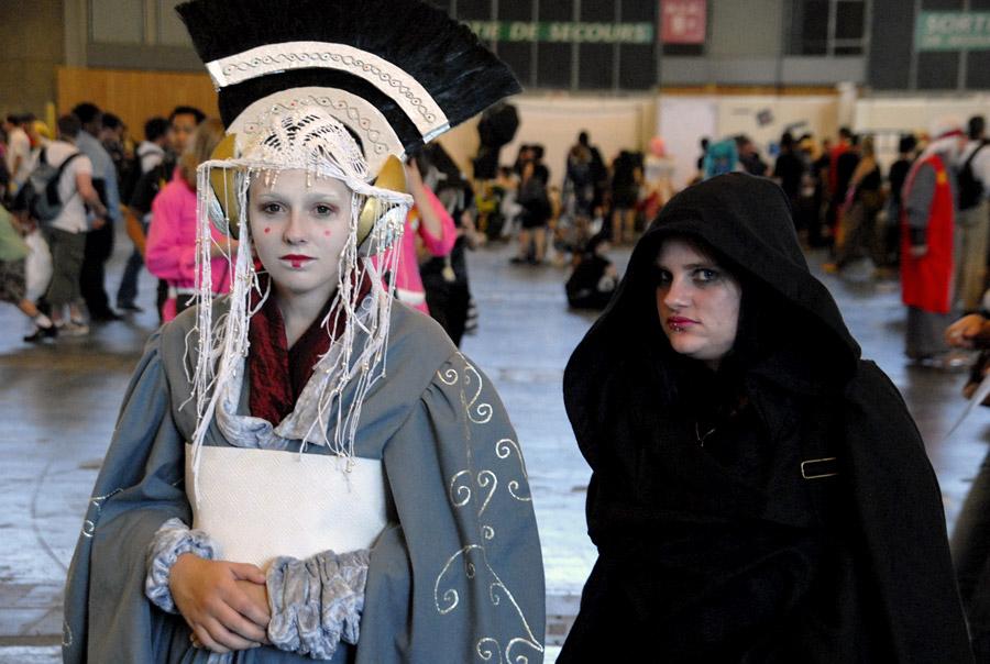 Japan Expo 2011: la Reine Amidala et un Sith