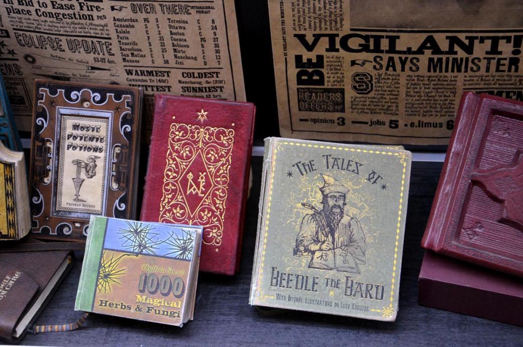 Les livres dans Harry Potter