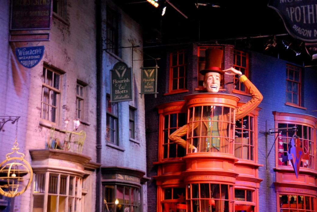 La boutique des frères Weasley