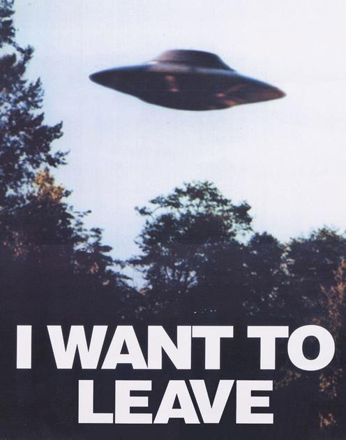 Je veux partir