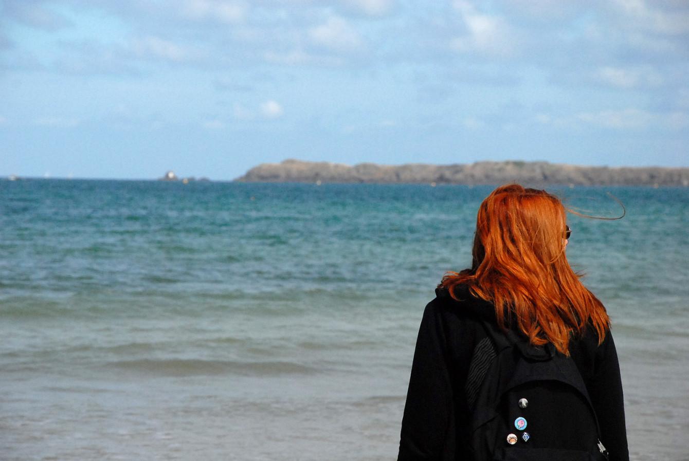 Tête-à-tête avec la mer