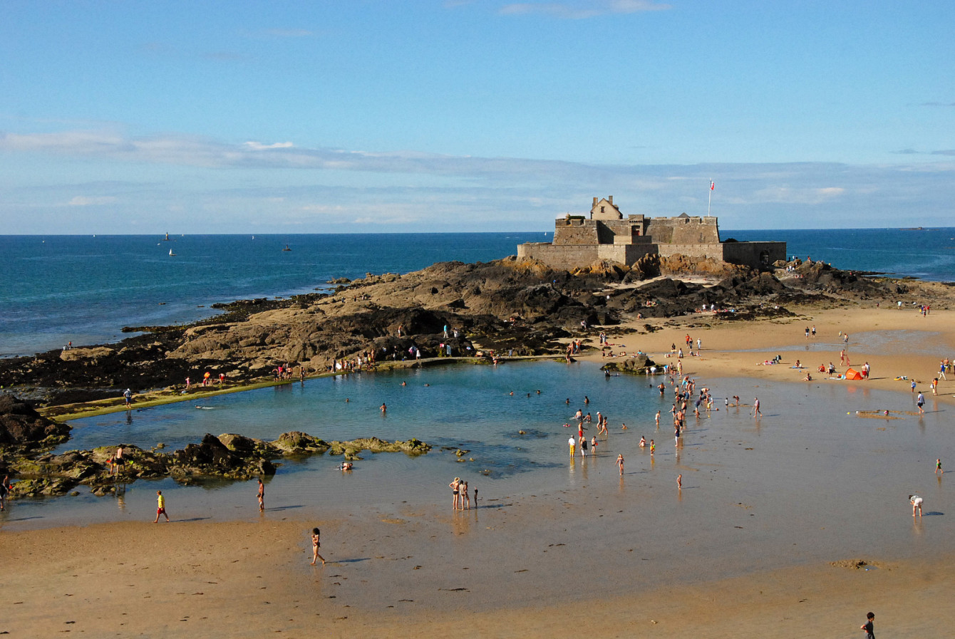 Le Fort National à Saint-Malo