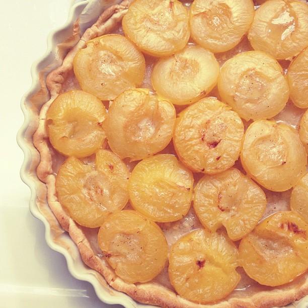 Tarte maison aux prunes