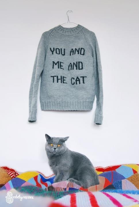 Toi et moi et le chat