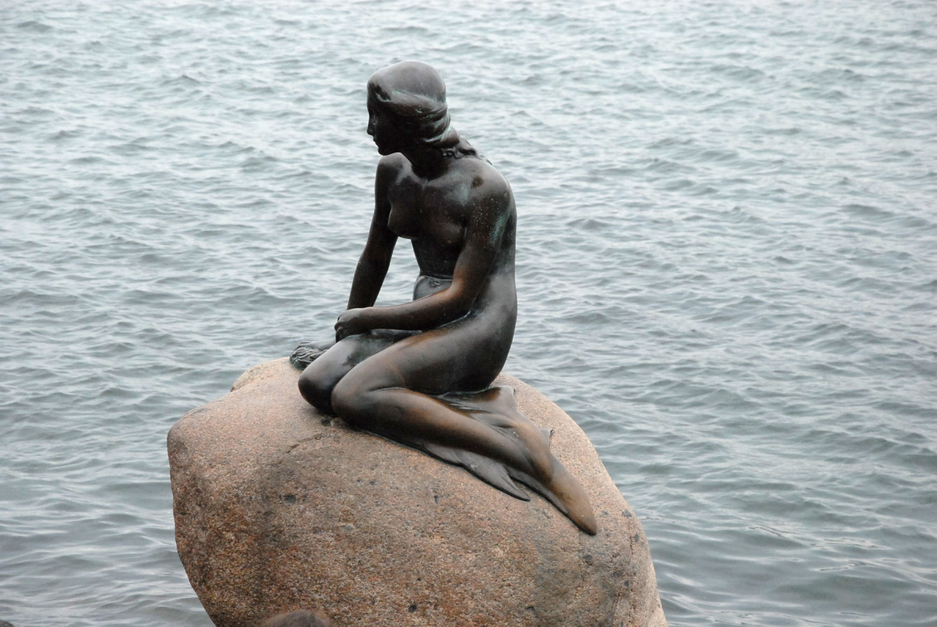 La petite sirène à Copenhague
