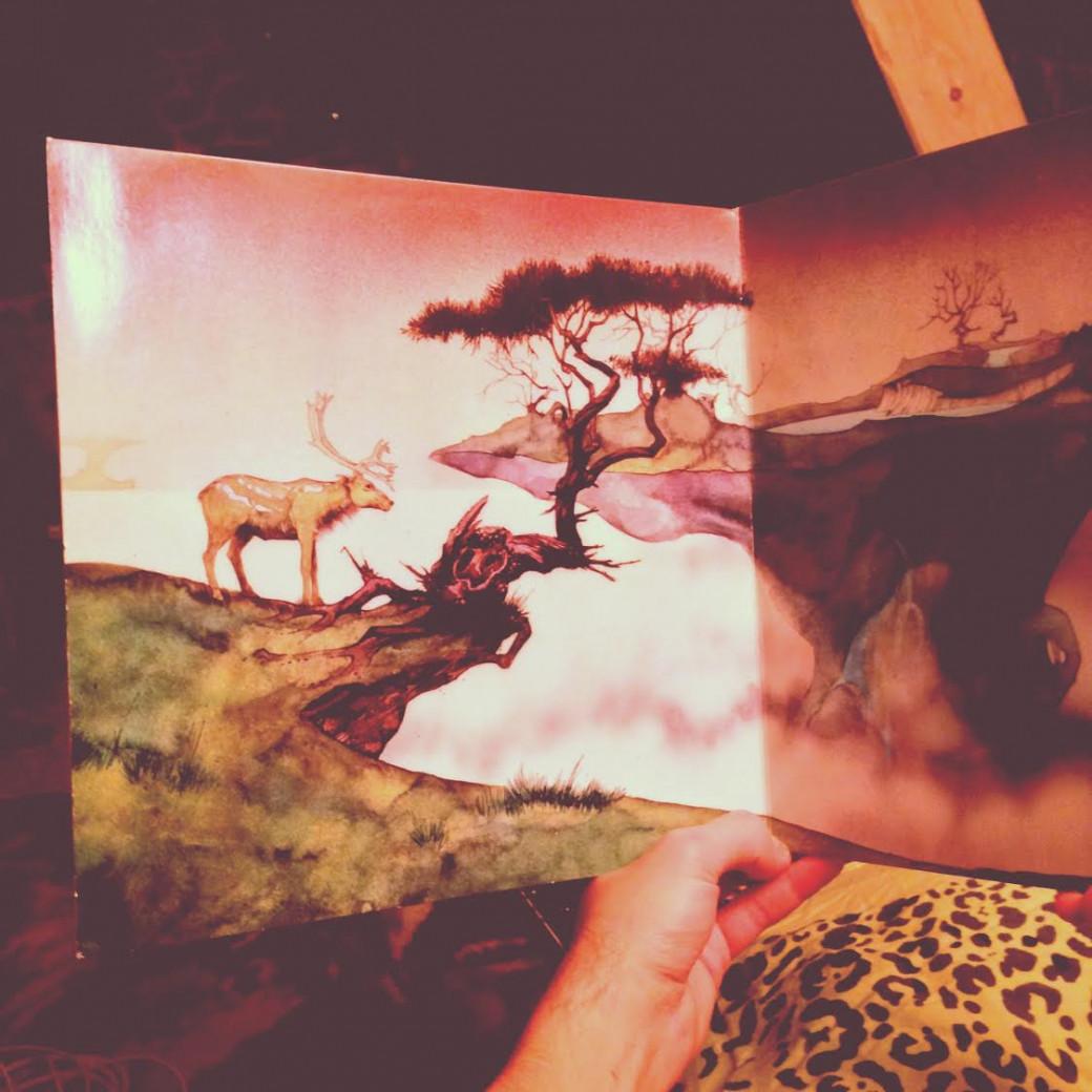 Vinyl illustré par Roger Dean