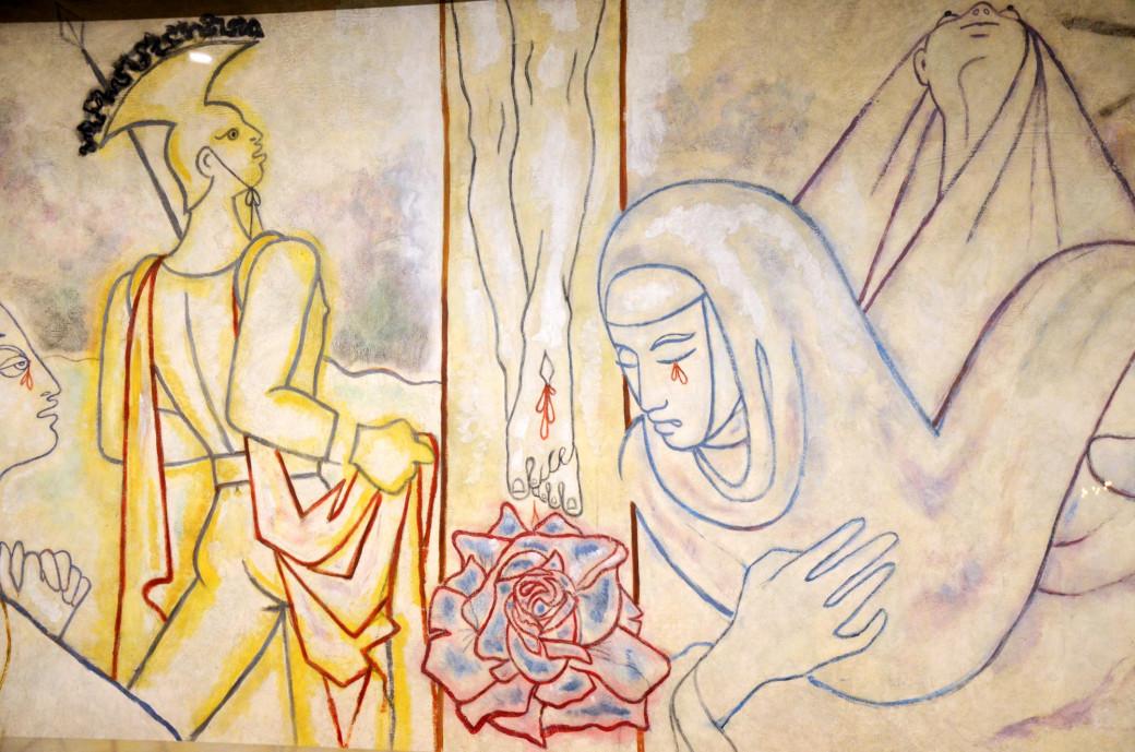 Fresque de Jean Cocteau
