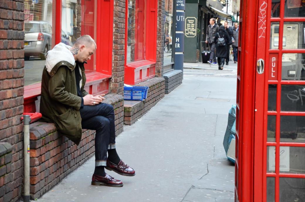Hipster londonien