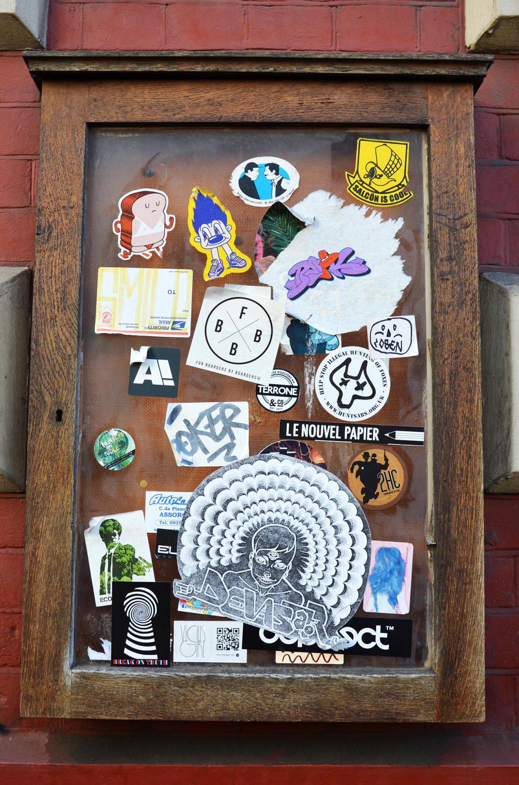 Stickers à Soho