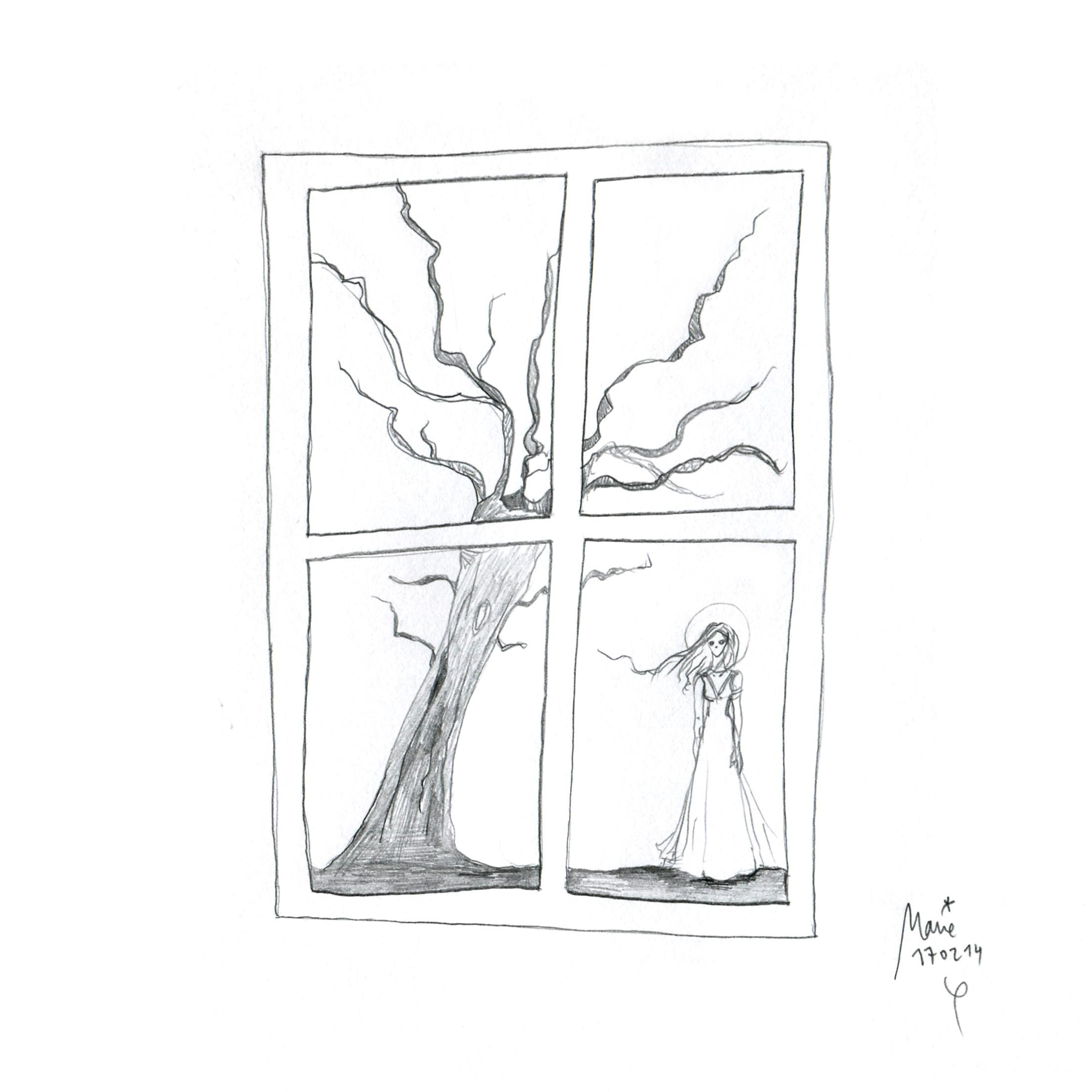 Défi dessin, jour 17: photomaton