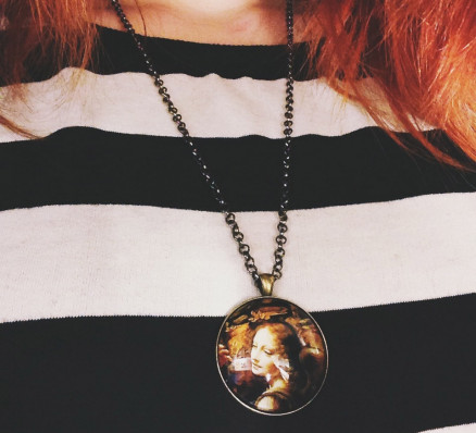 Mon collier Leonard de Vinci