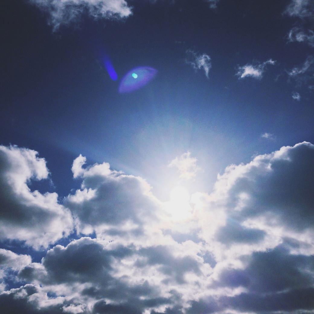 Ciel éclatant
