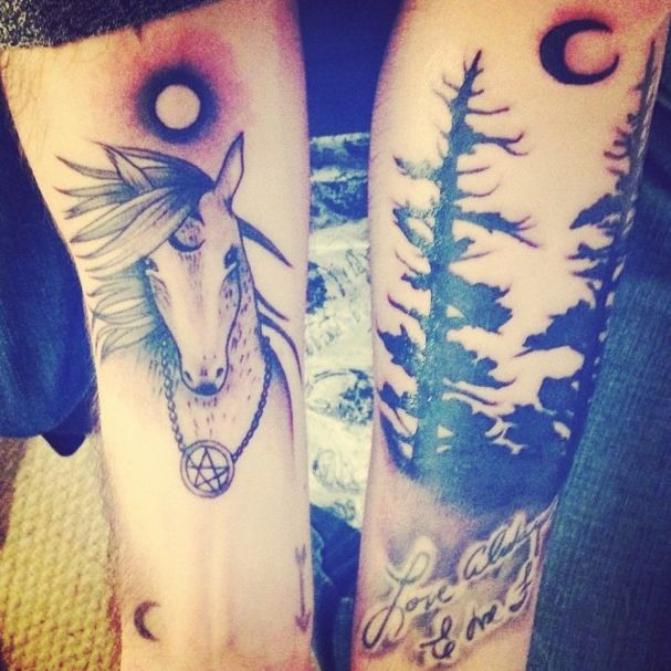 Tatouage inspiré par The Wild Unknown