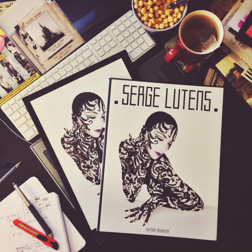 Un livre de Serge Lutens